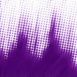 Purple halftone texture - Stock Photo