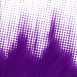 Purple halftone texture — Stock Photo #6540385