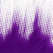 Purple halftone texture — Stock Photo