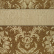 Striped background (see big collections fabric) — Stock Photo