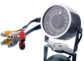 Spy infrared camera — Stock Photo