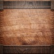 Wood background texture (antique furniture) - Stock Photo