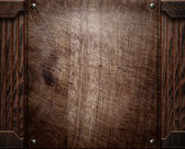 Wood background texture (antique furniture) — Fotografia Stock