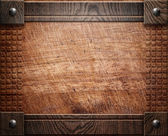 Wood background texture (antique furniture) — Stockfoto