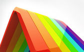 3d Rainbow — Stock Photo