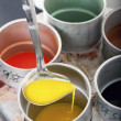 Liquid wax colors — Stock Photo