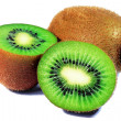 Abstract photo of a kiwi — Stock Photo