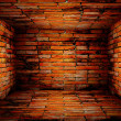 Light of dark edges wall — Stock Photo