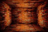 Light of dark edges wall — Stockfoto