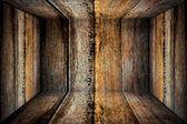 ışık karanlık kenarları ahşap duvar — Stok fotoğraf