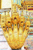 Statue of Golden Naga — Stock Photo