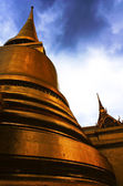 Pagoda in a temple thailand — Stock Photo