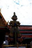 Giant stand around pagoda — Stock Photo