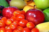 Assortiment de fruits frais — Photo