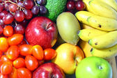Fresh various fruits — Stock Photo
