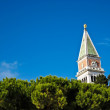 Blue Sky at San Marco church , Venice Italy - Stock Photo