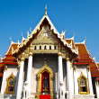 Stock Photo: Benchamabophit temple in Bangkok , Thailand
