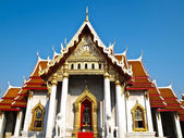 Benchamabophit temple in Bangkok , Thailand — Stock Photo