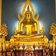 The Shinarath buddha in Bangkok Thailand — Stock Photo #5431812