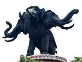 Statut de l'éléphant au Musée erawan, Thaïlande — Photo