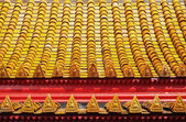 Roof Tiles at Temple — 图库照片