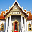 Wat Benjamaborphit , Bangkok thailand — Stock Photo #5586433