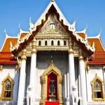 Wat Benjamaborphit , Bangkok thailand — Stock Photo #5586433