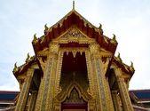 Wat Ratchabophit Buddhist temple , Bangkok Thailand — Стоковое фото