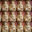 Stock Photo: Small BuddhStatue in Rows