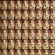 Many small Buddha statue — Stock Photo