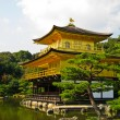 Kinkakuji , the Golden Pavilion at Kyoto, Japan — Stock Photo #5675711
