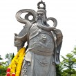 Stone Statue Of Guan Yu - Stock Photo