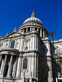 St Pauls Cathedral, London, England in UK — Stock Photo