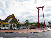 The Giant Swing Sutat Temple Bangkok, Thailand — Stock Photo