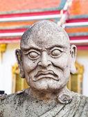 仏教寺院で石の彫像 — ストック写真