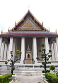 The Ubosot of Wat Suthat in Bangkok , Thailand — Stock Photo