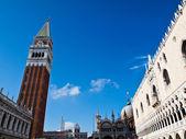 The San Marco square in Venice, Italia — Stock Photo
