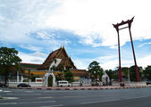 The Giant Swing (Sao Ching Cha) Sutat Temple Bangkok, Thailand — Stock Photo