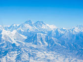 Everest ; View from Kala Pattar , Nepal — Stock Photo