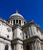 St Pauls Cathedral in London , UK — Stock Photo