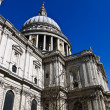 Dome of St Paul's Cathedral in London , UK - Stock Photo