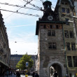 Foto Stock: Historic Clock Tower n Geneva, Switzerland