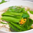 Stock Photo: Vietnamese noodles or chicken Pho