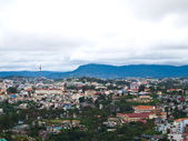 View of DaLat city in Vietnam — Stock Photo