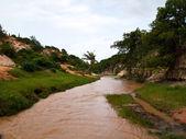 River at Fairy Stream canyon in MuiNe , Vietnam — Foto de Stock