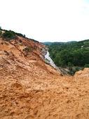 Canyon of the Fairy stream , Mui Ne in Vietnam — Stock Photo