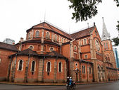 Notre dame kathedraal in ho chi minh city, vietnam — Stockfoto