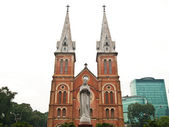Notre Dame at Ho Chi Minh City, Vietnam. — Stock Photo