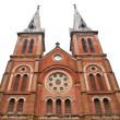 Notre Dame Cathedral in Ho Chi Minh City Vietnam - 图库照片