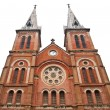 Notre Dame Cathedral in Ho Chi Minh City Vietnam - Foto de Stock